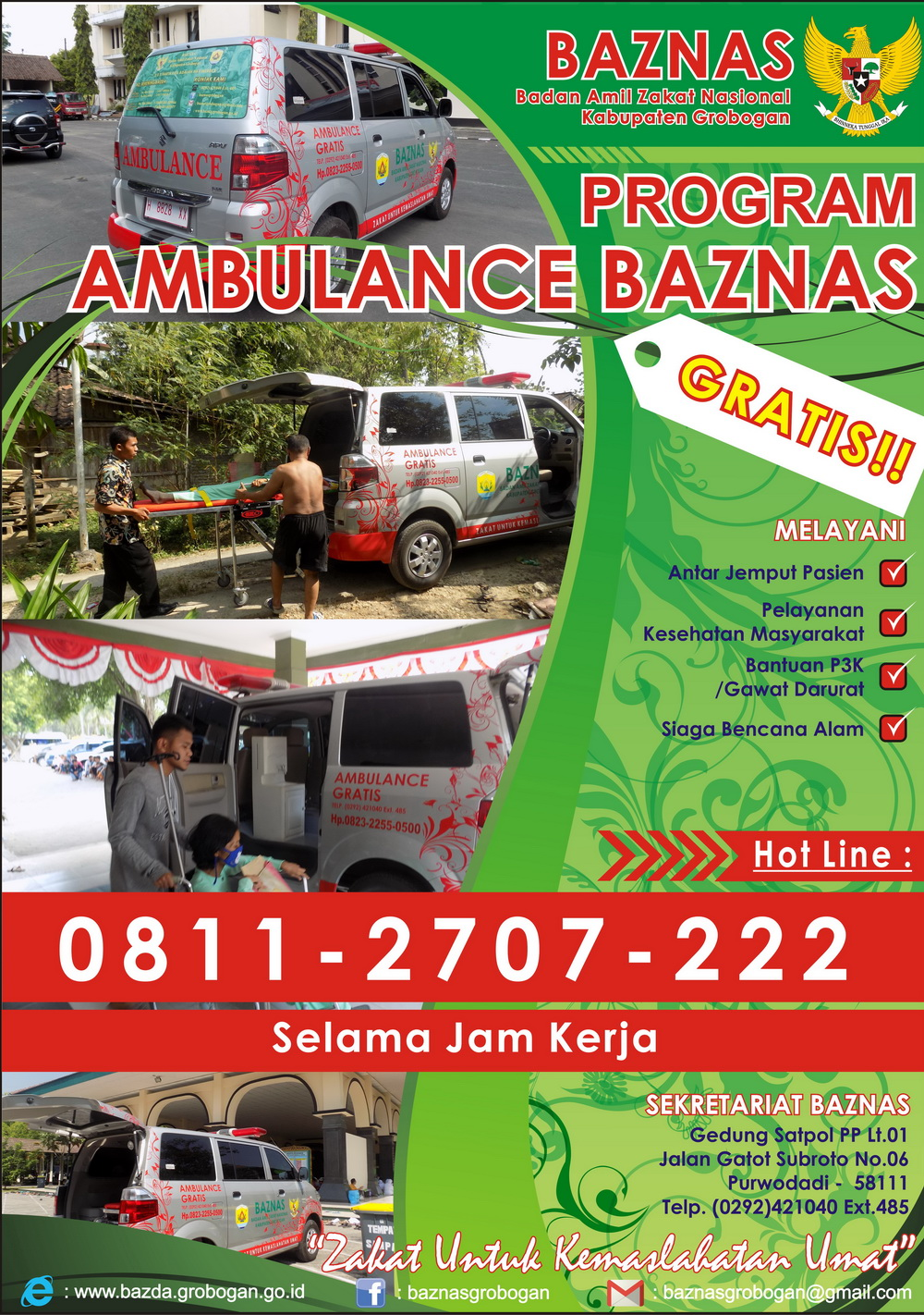 Ambulance Gratis